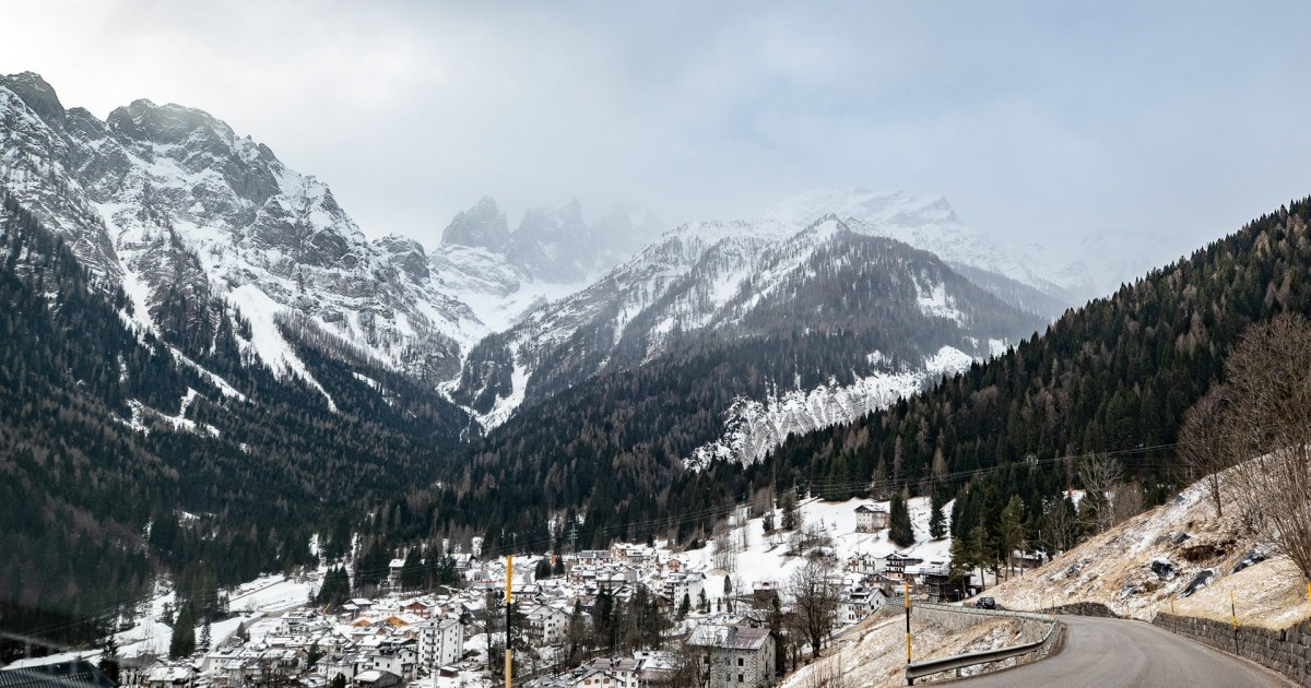 Skiing and the Pandemic: On Lockdown in Italy's Dolomites