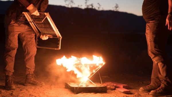 campfire gear and etiquette
