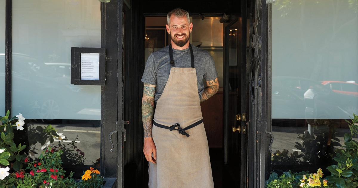How Michelin-Starred Chef Teague Moriarty Keeps It Simple at Home