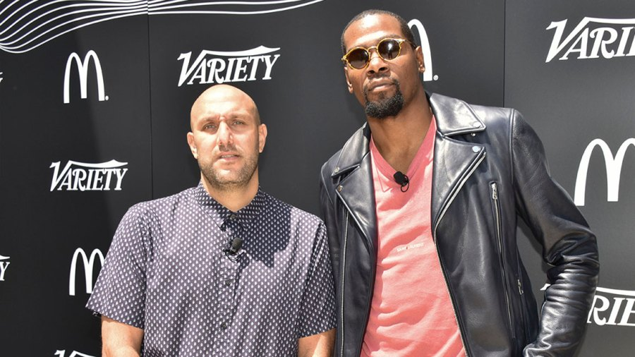 Variety Sports & Entertainment Breakfast, Los Angeles, USA - 19 Jul 2018 Rich Kleiman and Kevin Durant 19 Jul 2018 Image ID: 9765235y Featured in: Variety Sports & Entertainment Breakfast, Los Angeles, USA - 19 Jul 2018 Photo Credit: Variety/Shutterstock