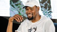 Kevin Durant in Manila, Philippines - 08 Jul 2018 Kevin Durant 8 Jul 2018 Image ID: 9745177a Featured in: Kevin Durant in Manila, Philippines - 08 Jul 2018 Photo Credit: Mark R Cristino/EPA-EFE/Shutterstock