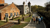The 133-year-old, recently renovated distillery of bourbon- maker Castle & Key.