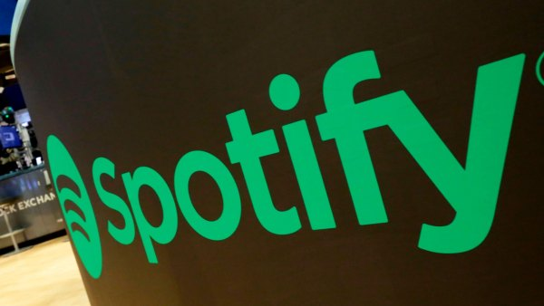 Financial Markets Wall Street Spotify IPO, New York, USA - 03 Apr 2018 A trading post sports the Spotify logo on the floor of the New York Stock Exchange, . Spotify, the No. 1 music streaming service which has drawn comparisons to Netflix, is about to find out how it plays on the stock market in an unusual IPO 3 Apr 2018 Image ID: 9489998b Featured in: Financial Markets Wall Street Spotify IPO, New York, USA - 03 Apr 2018 Photo Credit: Richard Drew/AP/Shutterstock