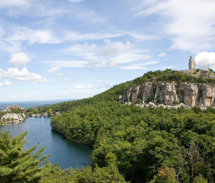 Sky Top Tower at Mohonk Mountain House in New Paltz, NY