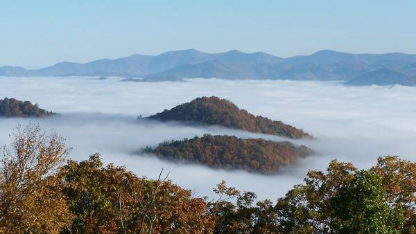 Black Rock Mountain State Park and Cowee Overlook