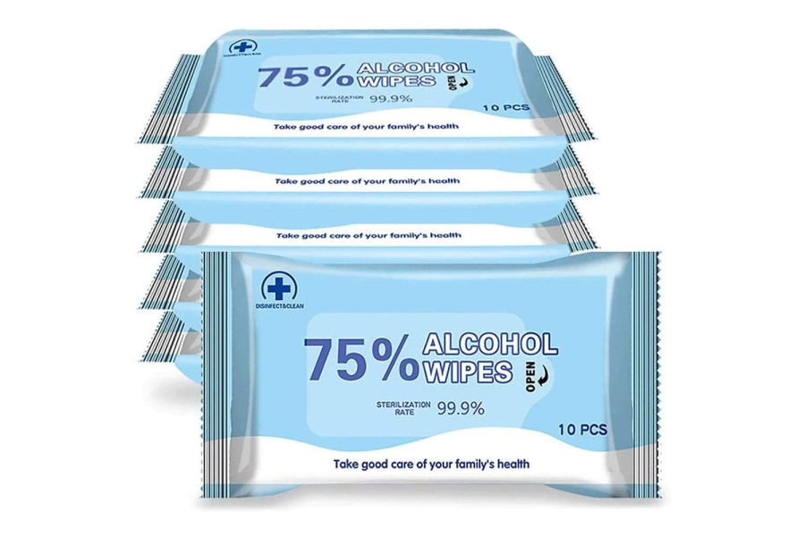 Alcohol Formula Wipes 5 Pack