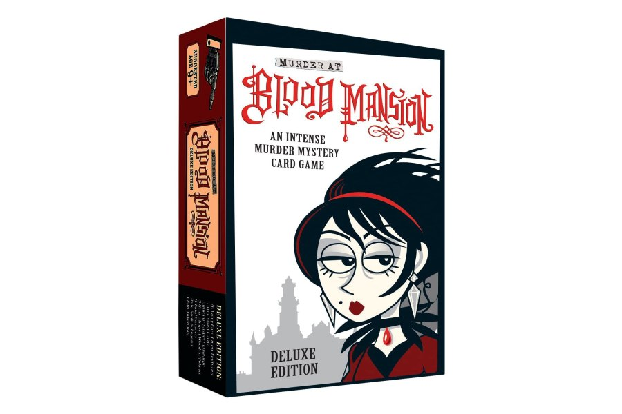 Murder at Blood Mansion Deluxe Card Game