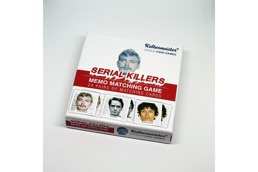 Notorious Serial Killers - A Thrilling Memo Match Game