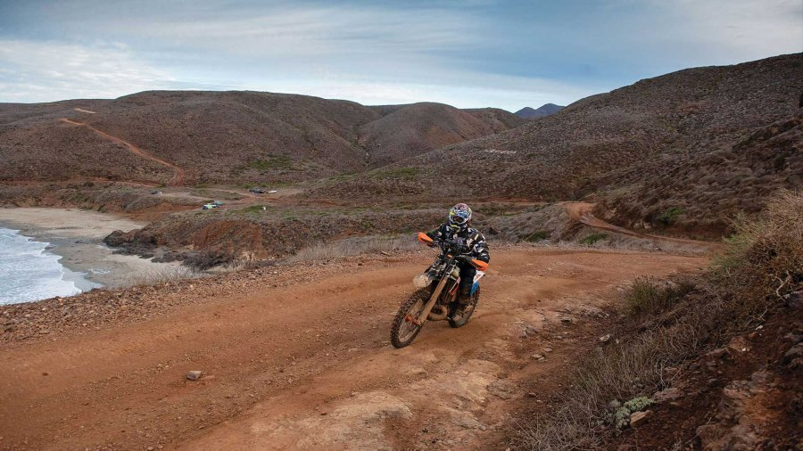 """The Baja 1000, the """"granddaddy of off-road races,"""" attracts riders from around the globe, including Rick Thornton."""