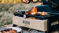 This Portable Grill Makes Cooking With Charcoal in the Outdoors Easy