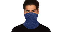 Scarf Bandanas Neck Gaiter with Safety Carbon Filters