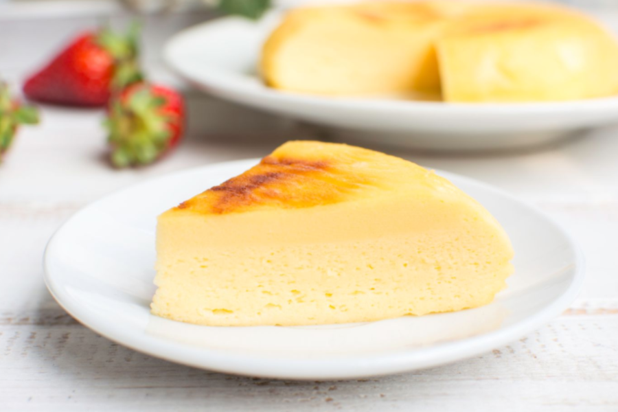 Slow Cooker Japanese Cheesecake