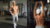 Donnie Yen working out