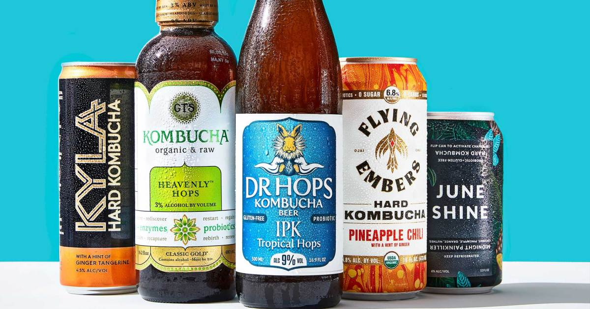 Photo of 5 Hard Kombuchas That Are a Better-for-You Alternative to Alcohol