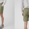 Save Khaki Utility Short