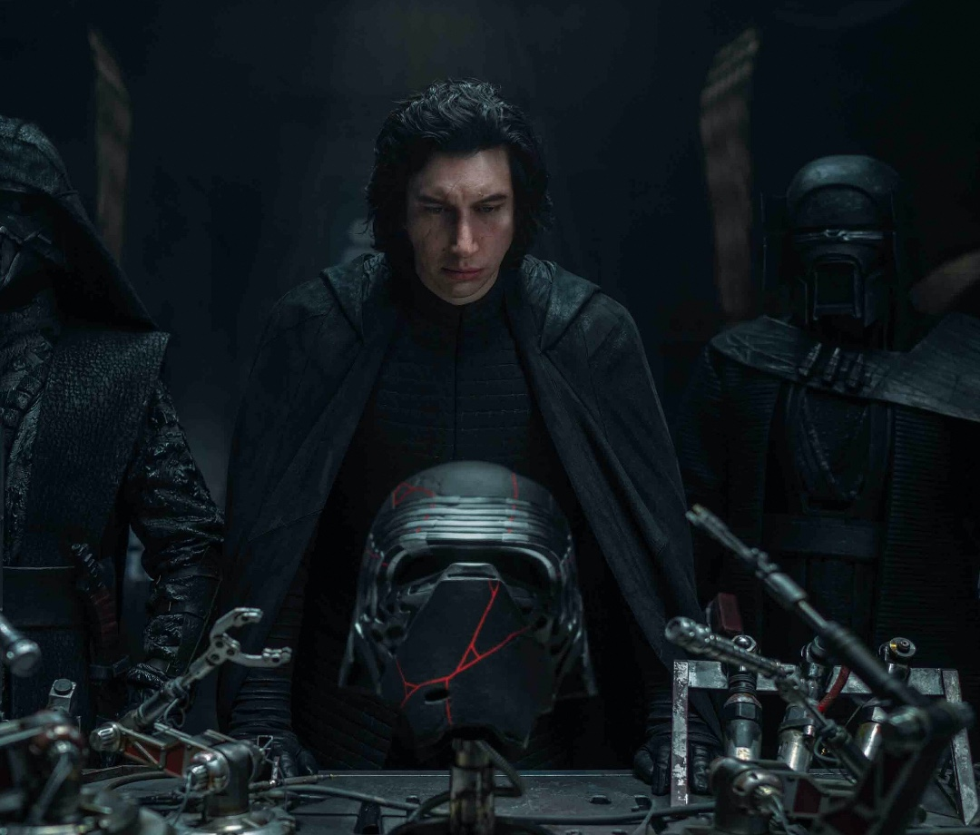 Adam Driver as Kylo Ren in 'Star Wars: The Rise Of Skywalker'