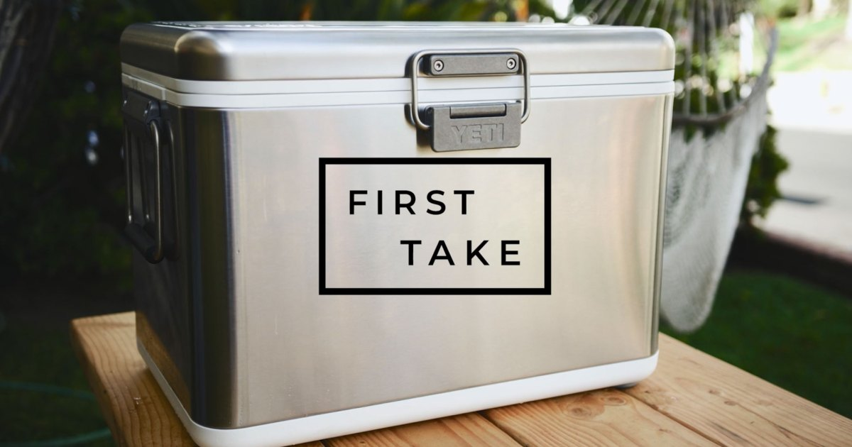 First Take: YETI's New V-Series, the Airstream Trailer of High-End Coolers