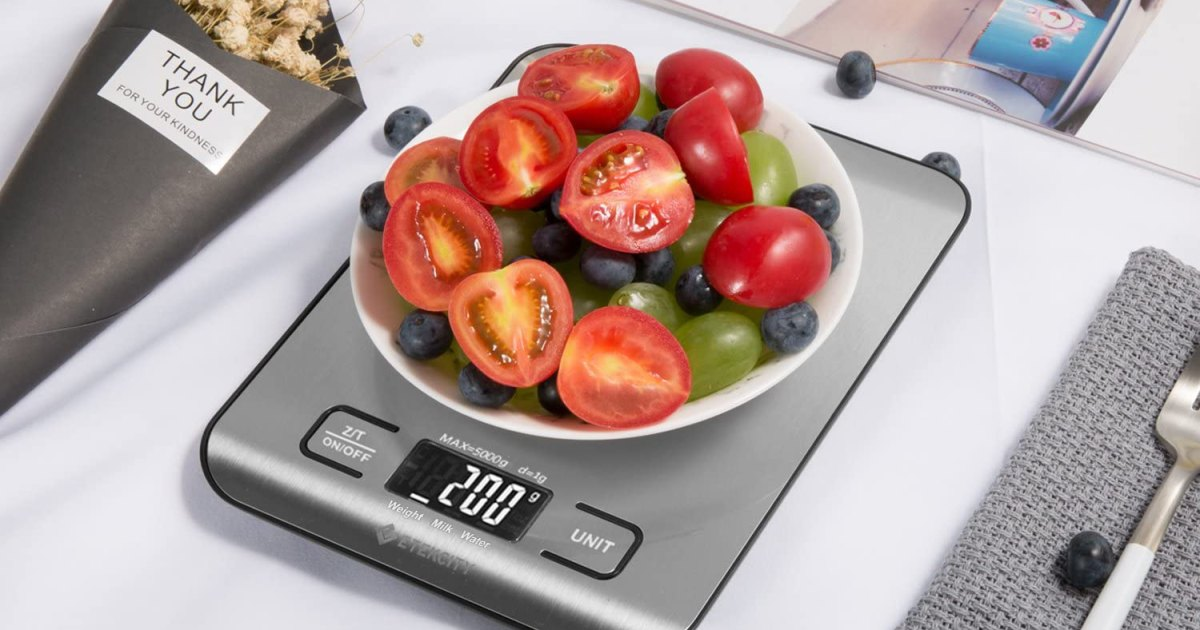 Portion Your Food Out Properly With The Etekcity Food Scale