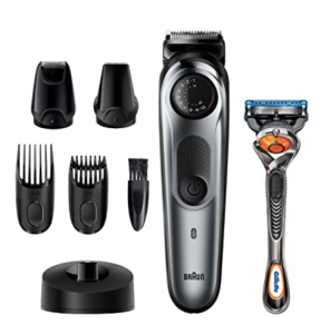 Braun Beard Trimmer BT7240 with Precision Dial