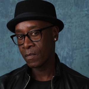 "Don Cheadle, a cast member in the Showtime series ""Black Monday,"" poses for a portrait during the 2020 Showtime Winter Television Critics Association Press Tour"