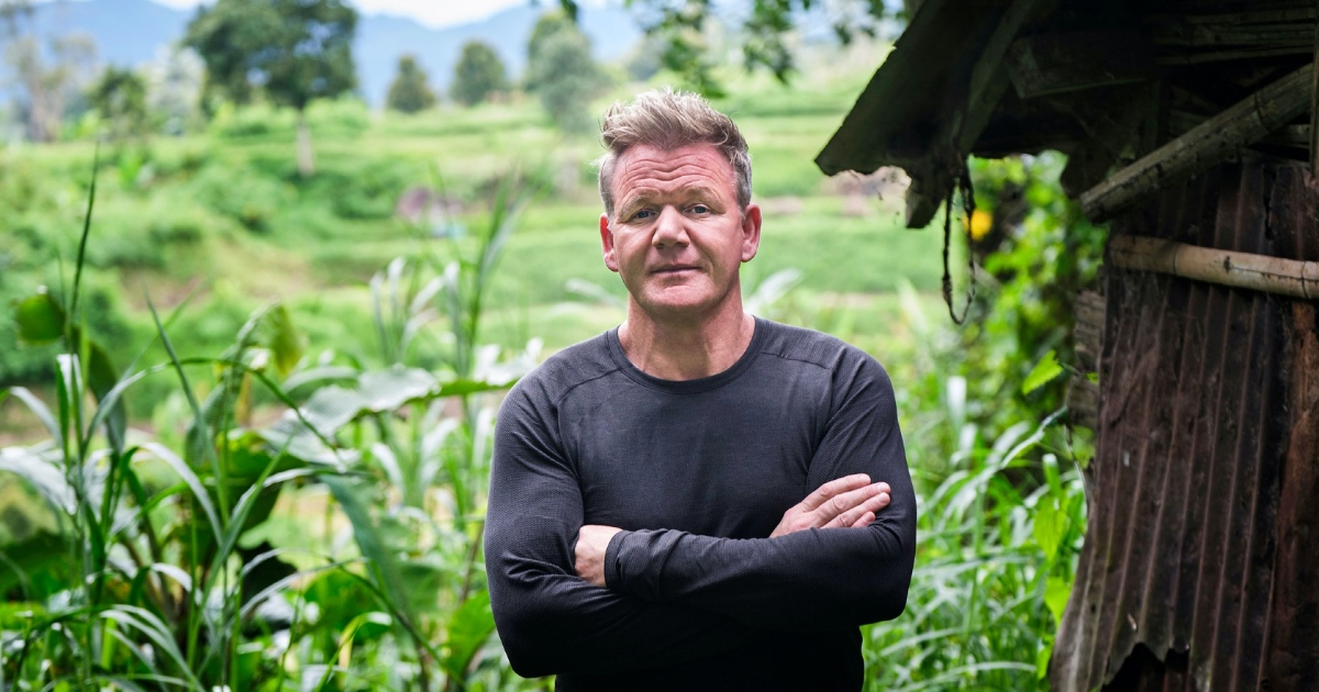 Gordon Ramsay on Wildest Adventures From 'Uncharted'