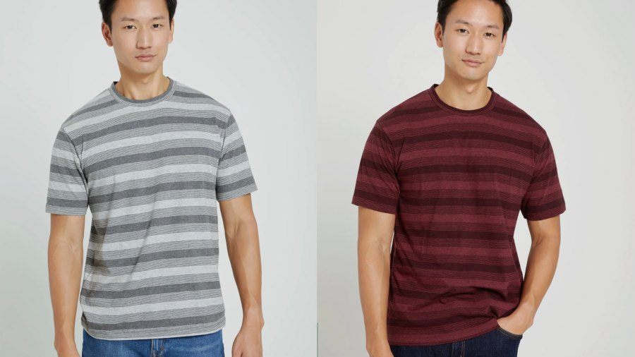 Good Cotton Relaxed Striped Tee