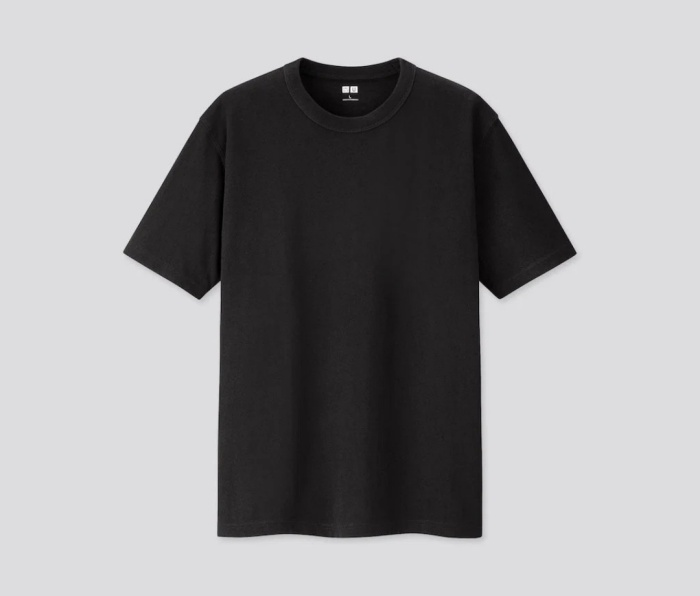 Off-White Male Jersey Shirt Body Form