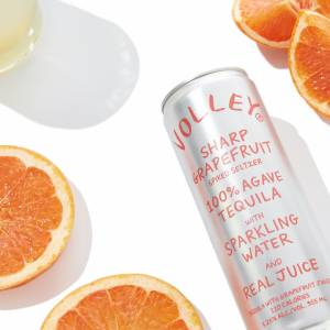Volley Sharp Grapefruit Spiked Seltzer