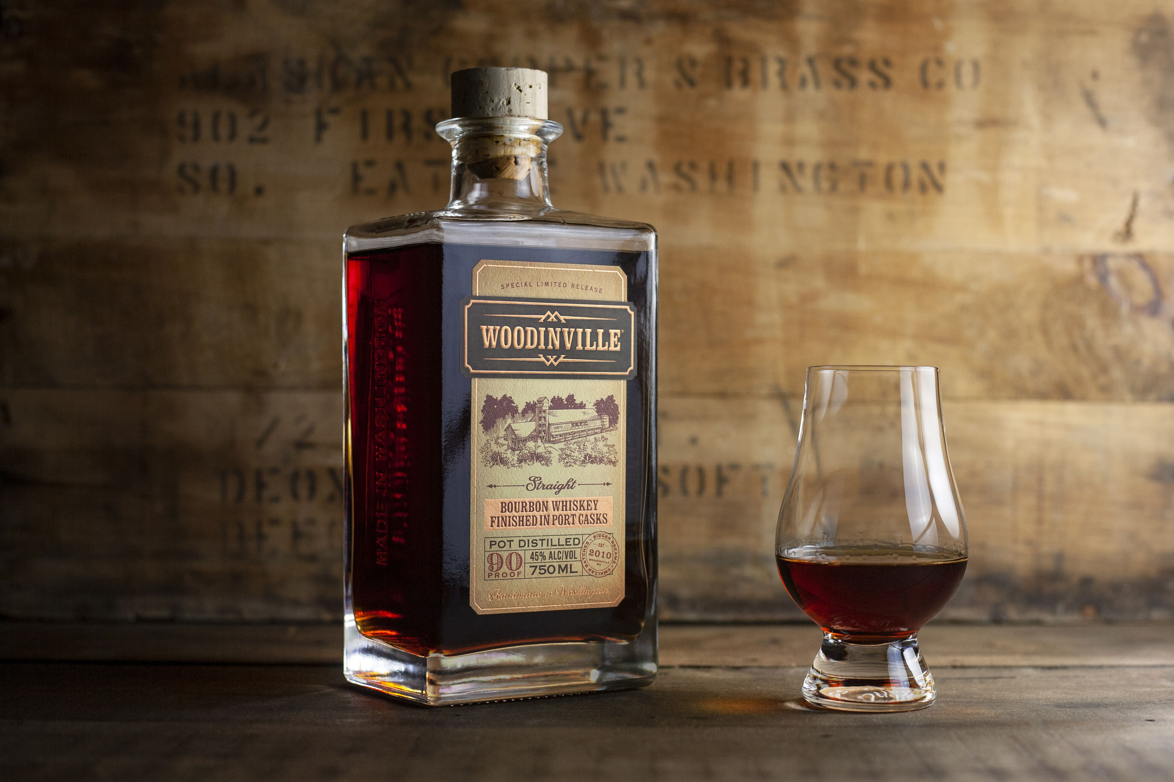 Woodinville Port Finished Bourbon