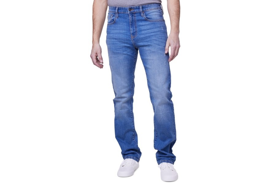 Lazer Straight-Fit Jeans