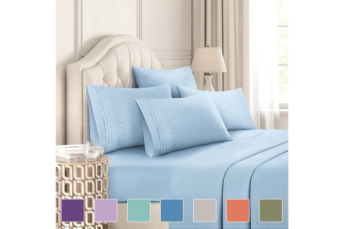 CGK Unlimited 6 Piece Sheets Set