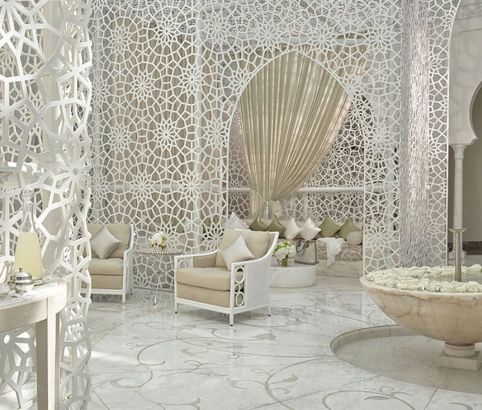 The spa at Royal Mansour Marrakech