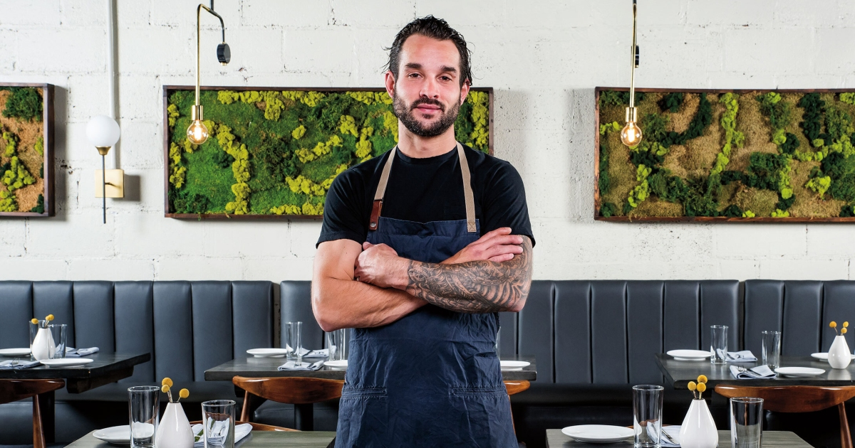 Photo of Chef Michael Noll on Skating, His Go-To Drink & More | Men's Journal