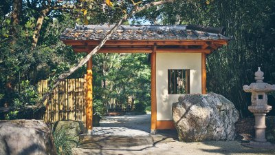 Morikami Museum and Japanese Gardens in Delray Beach, Florida