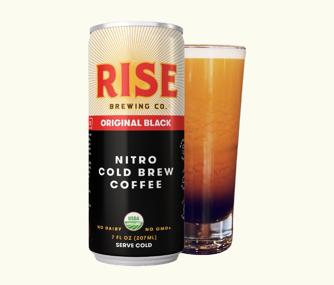 Rise Brewing Co. Original Black Nitro Cold Brew