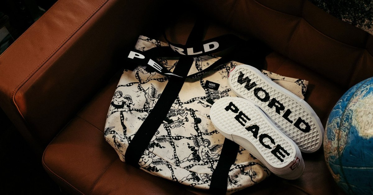 Photo of Vans and Justin Henry Stand Together for World Peace With Limited-Edition Style 36 Pro