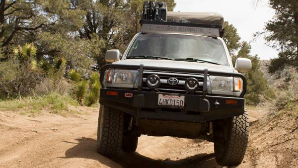 overland rig with used vehicle Toyota 4Runner