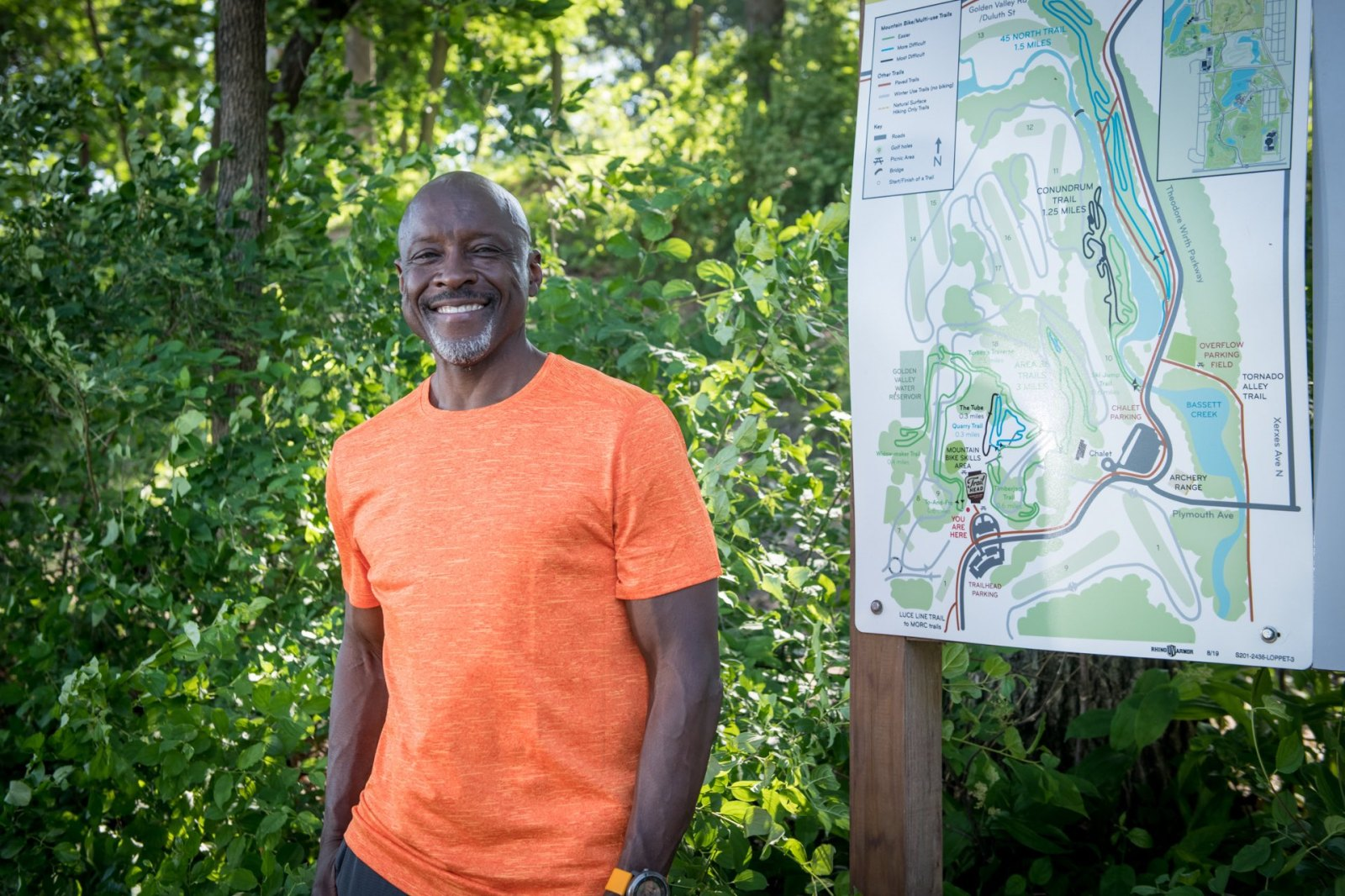 Anthony Taylor Minneapolis advocate outdoors trail running theodore wirth park
