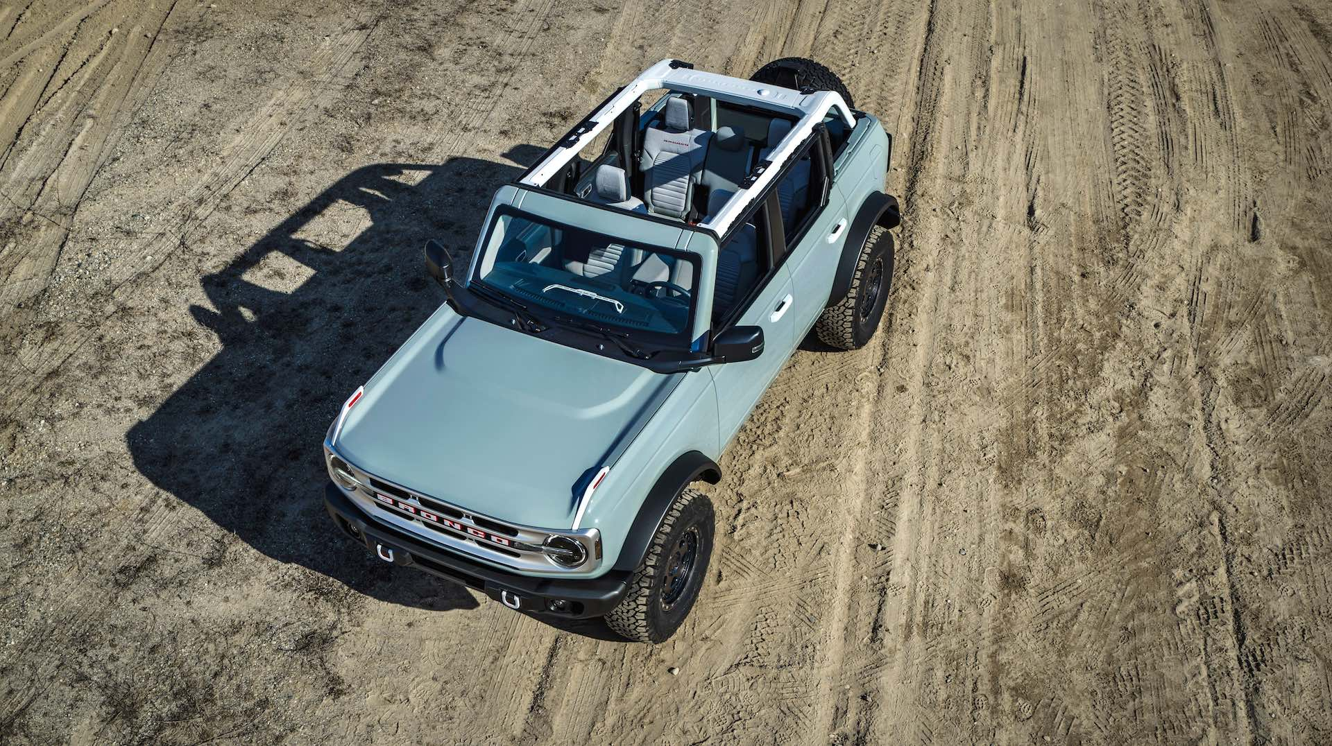 The 2021 Ford Bronco Four-Door
