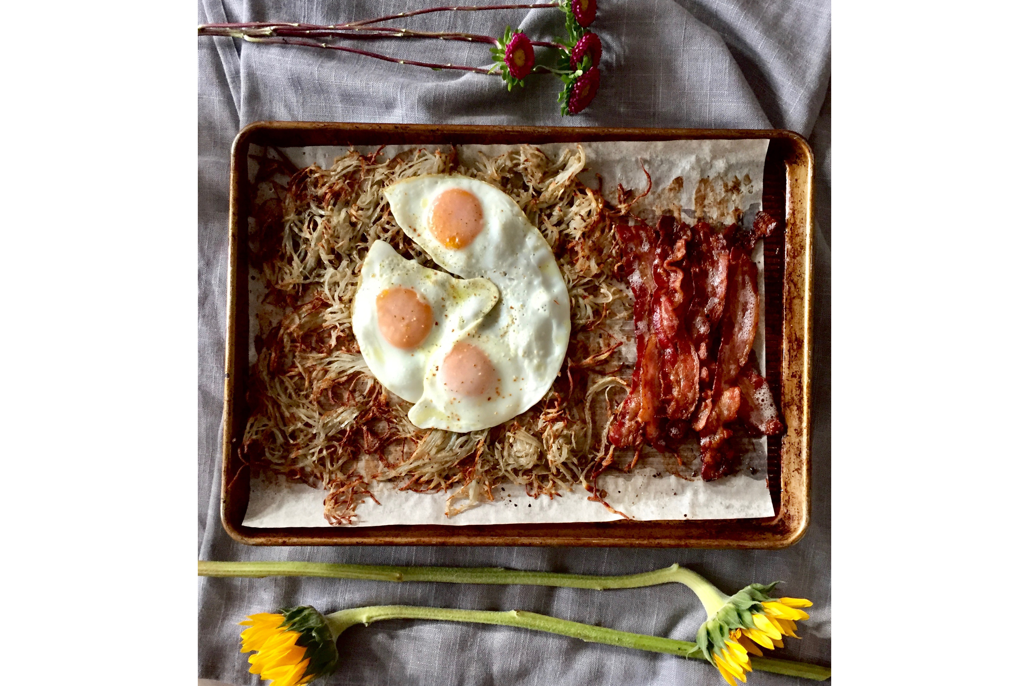 sheet pan breakfast
