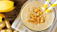 Featured_Peanut Butter Banana Protein Smoothie