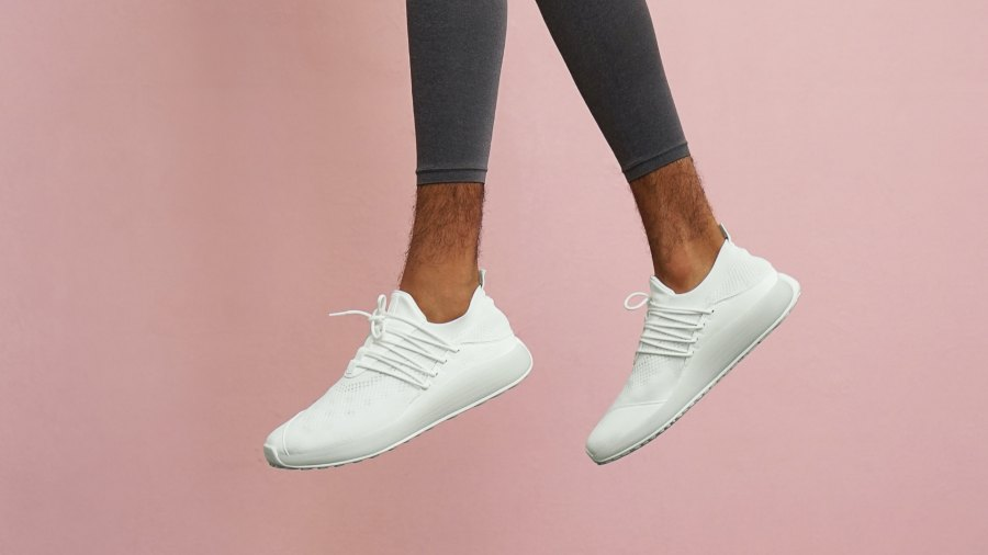 Lane Eight sustainable Trainer AD 1 in cloud white