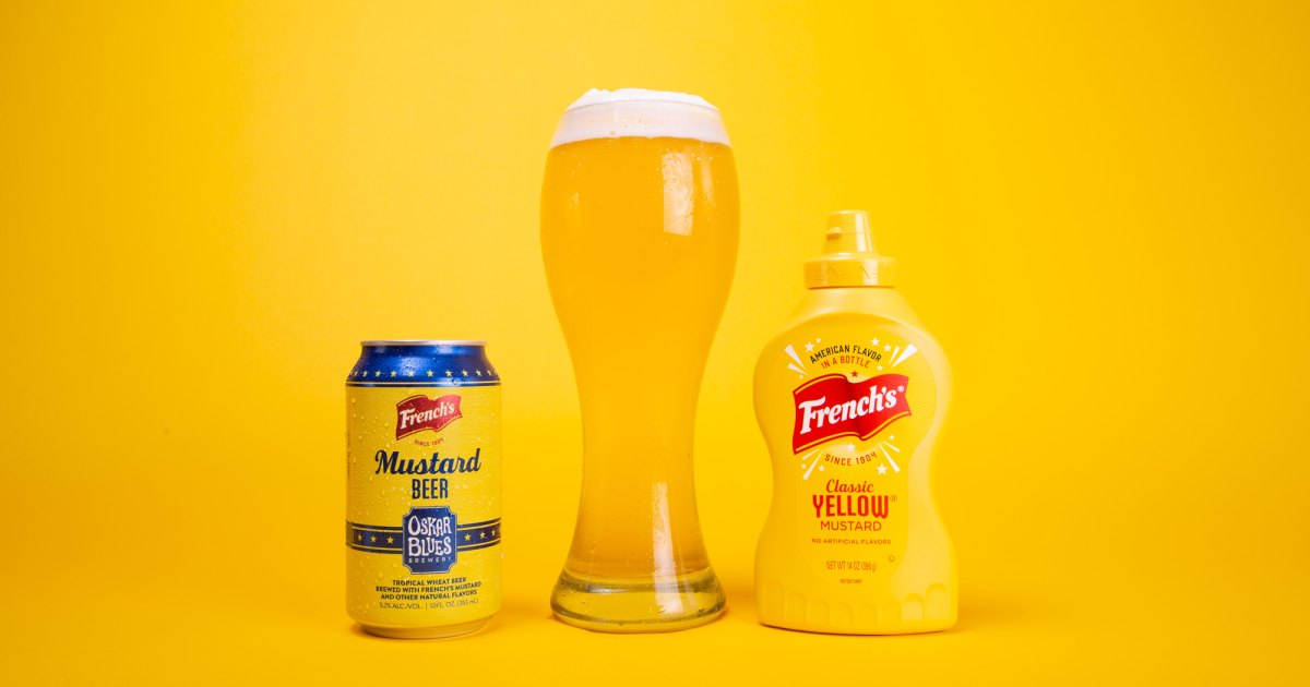 Photo of I Tried Oskar Blues' French's Mustard Beer & You'll Relish the Chance, Too