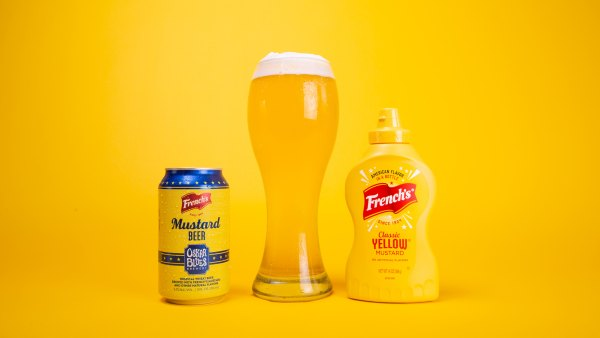 Oskar Blues' French's Mustard Beer