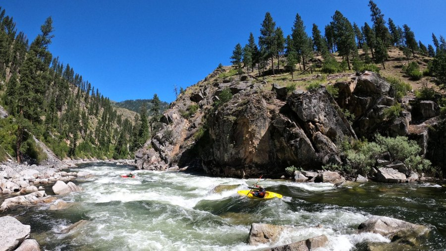 Multi-Day Self-Support Wilderness Kayaking on Idaho's South Fork Salmon River