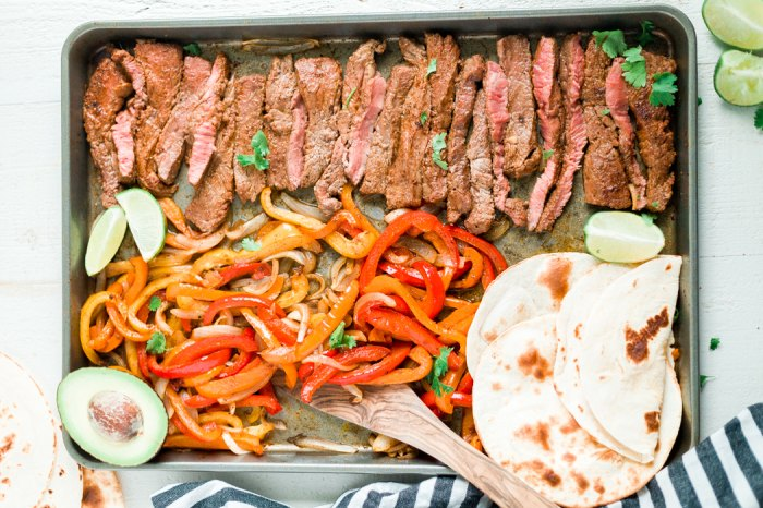 Home.fit Sheet-pan-steak-fajitas-6 Best Sheet Pan Dinners to Make Right Now