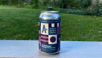 Athletic Brewing's Blackberry Berliner Weisse Style Ale