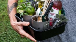How to pack a camp mini-bar to-go kit