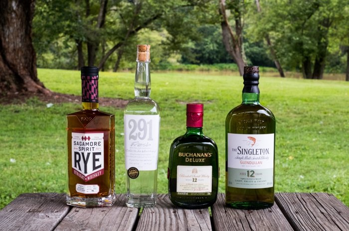 How to pack a camp mini-bar whiskey