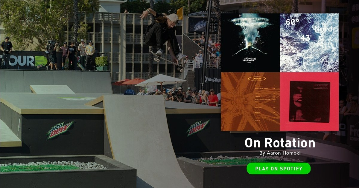 Photo of Pro Skater Aaron 'Jaws' Homoki Shares the Playlist That Amps Him Up
